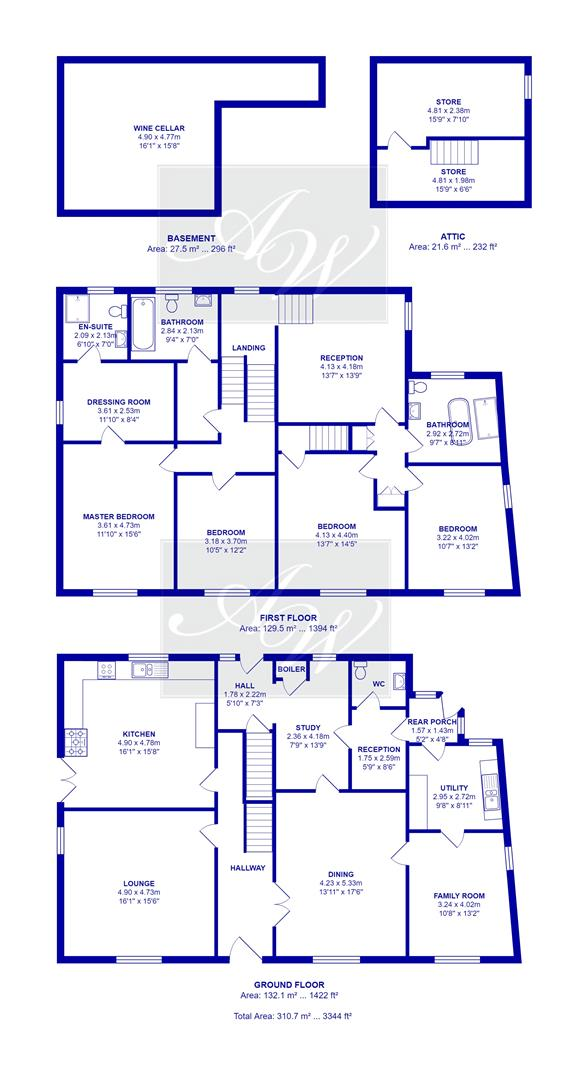 5 bedroom detached house For Sale in Bolton - Lovely Hall Broadhead Road Edgworth.jpg.